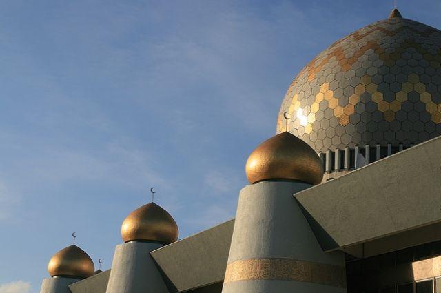 Zdjęcia: Kota Kinabalu/Borneo, Meczet , MALEZJA