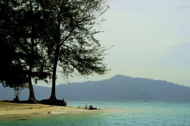 Zdj�cia: Park Narodowy im. Rahmana, kota kinabalu/borneo, Wyspa Mamutik, MALEZJA