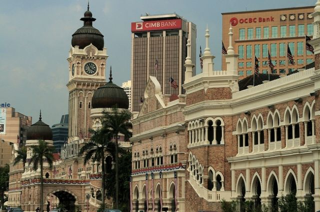 Zdj�cia: Kuala Lumpur, Na placu Merdeka, MALEZJA