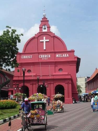 Zdjęcia: Melaka, Christ Church, MALEZJA