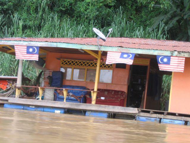 Zdjęcia: malezja, pływające domy, MALEZJA