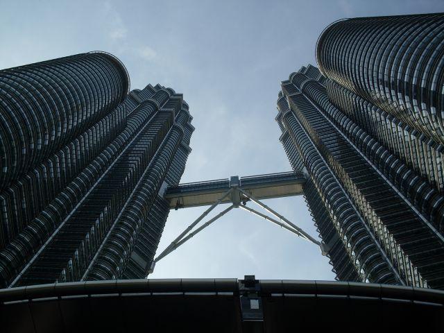 Zdjęcia: Kuala Lumpur, Kuala Lumpur, ... 2 Petronas Towers sote...., MALEZJA