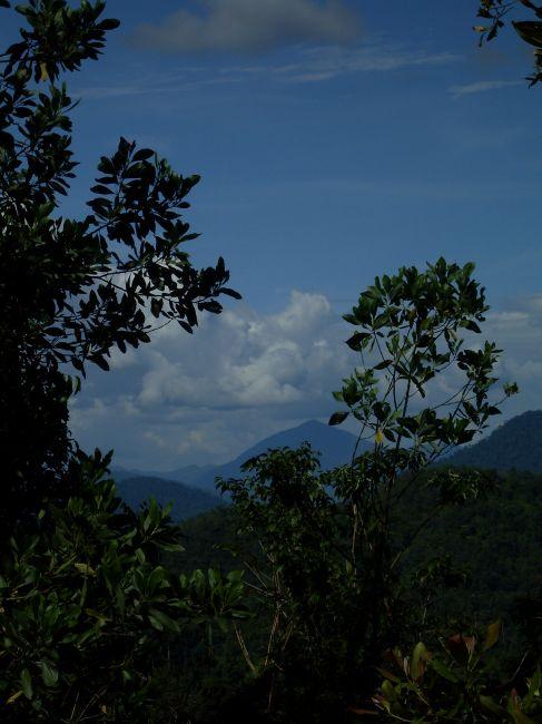 Zdjęcia: Borneo- droga KK-Sandakan, Sabah, ... góry Borneo... te mniej uczęszczane...., MALEZJA