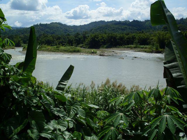 Zdjęcia: Borneo- droga KK-Sandakan, Sabah, ... rzeki Borneo..., MALEZJA