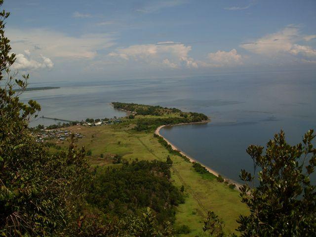 Zdjęcia: Borneo-w drodze na Berhalę, Sabah, ... Berhal z góry..., MALEZJA