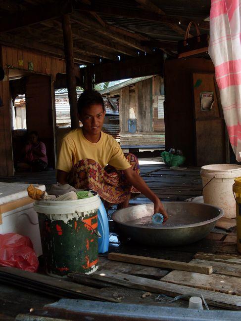 Zdjęcia: Borneo-Berhala, Sabah, ... piorę ..., MALEZJA