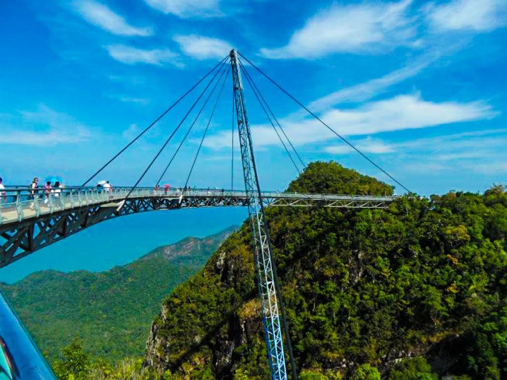 Zdjęcia: Langkawi, Langkawi, magiczny most, MALEZJA