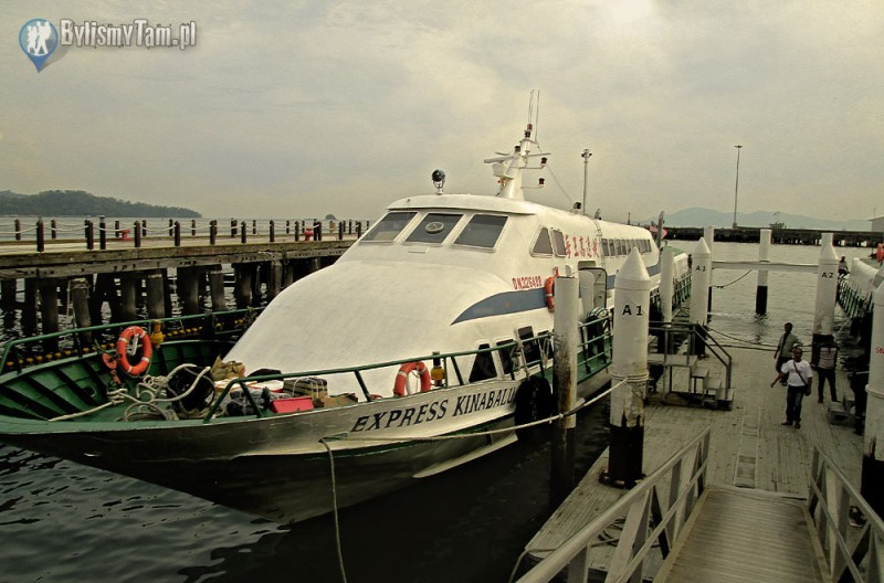 Zdjęcia: Kota Kinabalu, Borneo, port w Kota Kinabalu, MALEZJA