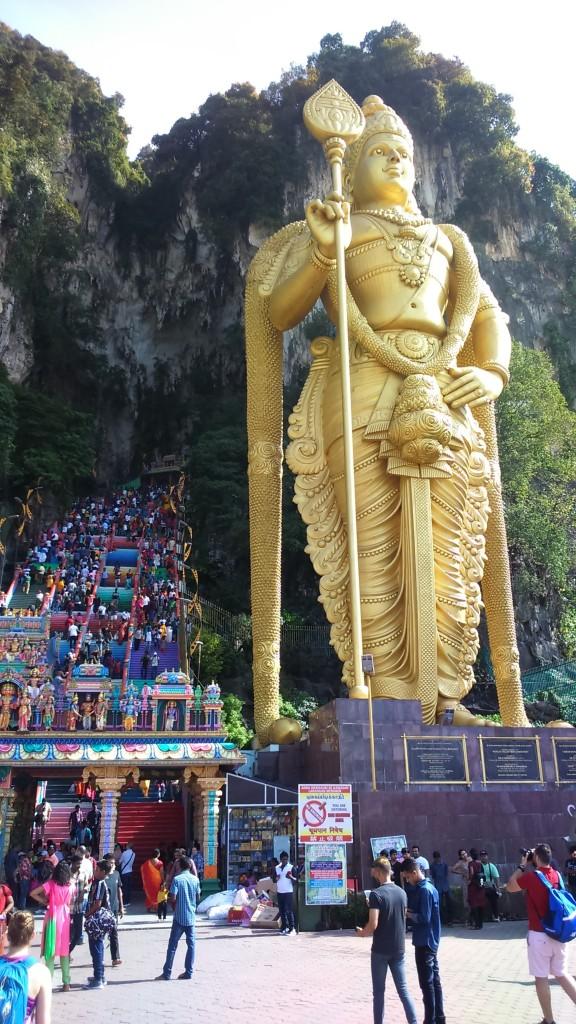 Zdjęcia: Kuala Lumpur, CAVE TEMPLE (Jaskinie Batu), MALEZJA