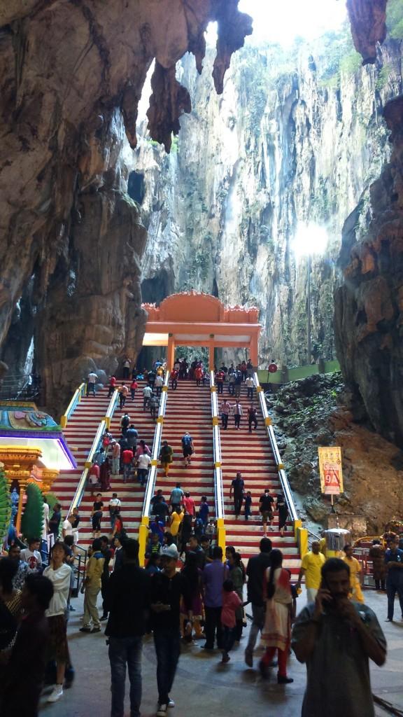 Zdjęcia: Kuala Lumpur, wewnątrz Cave Temple, MALEZJA