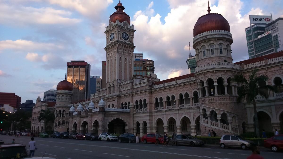Zdjęcia: Kuala Lumpur, bangunan sultan abdul samad, MALEZJA