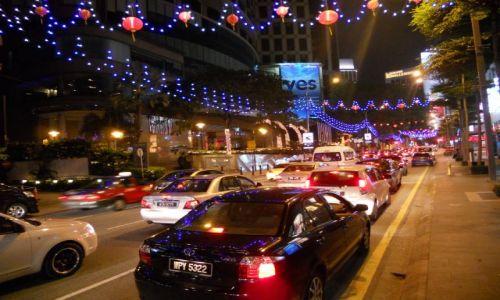 Zdjecie MALEZJA / - / Kuala Lumpur Ruch uliczny / Malezja