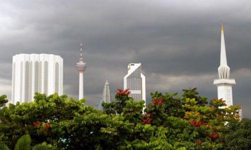 Zdjecie MALEZJA / - / Kuala Lumpur / KL przed burzą