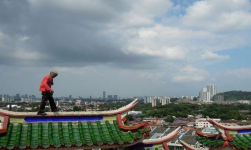 Zdjecie MALEZJA / Pulau Penang / Kek Lok Si Temple / Ninja