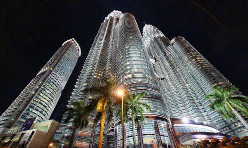 Zdjecie MALEZJA / - / Kuala Lumpur / Petronas Twin Towers