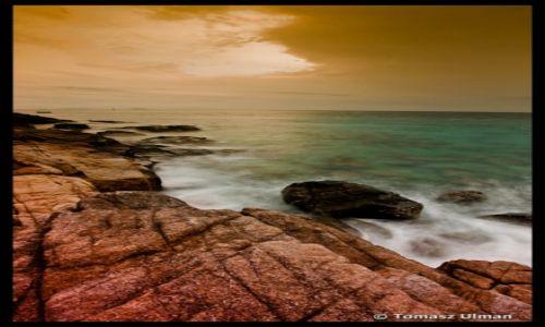 Zdjęcie MALEZJA / - / Perhentians / zachód słońca na Perhentian Kecil