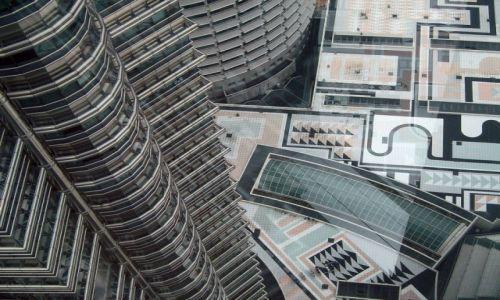 Zdjecie MALEZJA / - / Kuala Lumpur / Widok z Petronas Towers