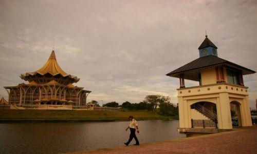 Zdjęcie MALEZJA / Borneo, Sarawak / Kuching / Riverside