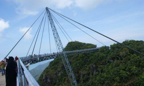 Zdjęcie MALEZJA / Langkawi / Langkawi Sky Bridge / Sky Bridge