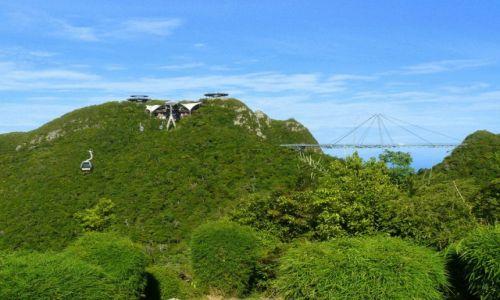 Zdjęcie MALEZJA / Langkawi / Langkawi Cable Car / Z widokiem na Sky Bridge
