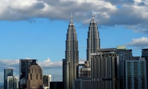 Zdjecie MALEZJA / środkowa część Płw. Malajskiego / City Centre KL / Widok na Petronas Towers