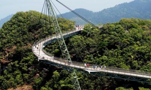 Zdjecie MALEZJA / płn-zach Malezja / Langkawi / Sky Bridge
