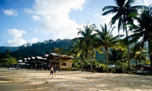 Zdjecie MALEZJA / Tioman / Juara / malezyjska plaża