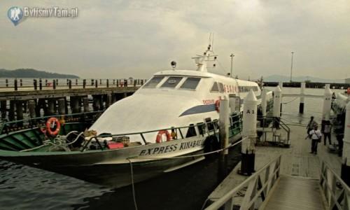 Zdjecie MALEZJA / Borneo / Kota Kinabalu / port w Kota Kin