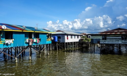 Zdjecie MALEZJA / Sandakan / Sandakan / Water Village