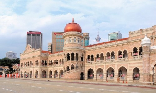 Zdjęcie MALEZJA / - / Kuala Lumpur / Sultan Abdul Samad Building