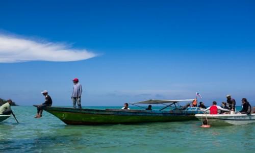 Zdjecie MALEZJA / Borneo / Kalapuan Island / meeting point
