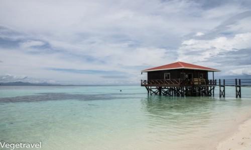 Zdjęcie MALEZJA / Sabah / Semporna / Jedna z rajskich wysp koło Semporny