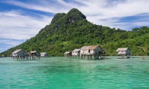 MALEZJA / Borneo / Archipelag Semporna / Przy wyspie Bodgaya