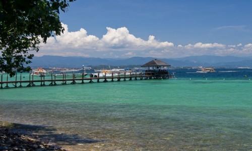 Zdjęcie MALEZJA / Borneo / Gaya / Molo