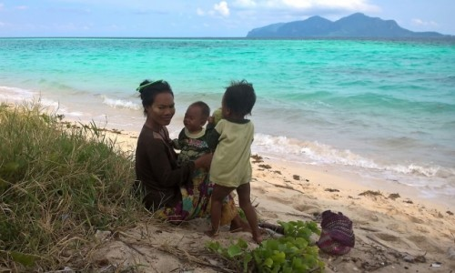 Zdjecie MALEZJA / Borneo / Pulau ibuan / Borneo Sibuan