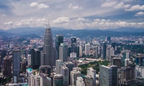 Zdjecie MALEZJA / Kuala Lumpur / Kuala Lumpur / Z wysokości