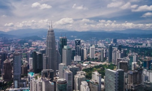MALEZJA / Kuala Lumpur / Kuala Lumpur / Z wysokości