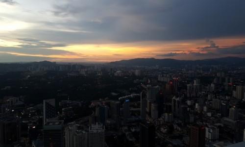 Zdjecie MALEZJA / Kuala lumpur / KL tower / Zachod