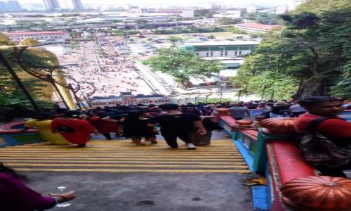 Zdjecie MALEZJA / - / Kuala Lumpur / Cave Temple - wyjście