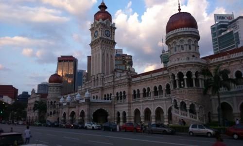 Zdjecie MALEZJA / - / Kuala Lumpur / bangunan sultan abdul samad