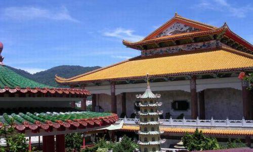 Zdjecie MALEZJA / brak / Air Hitam Penang / Świątynia Kek Lok Si