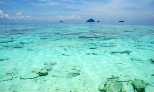 Zdjecie MALEZJA / brak / Perhentian Besut / Pulau Perhentain - widok na wode