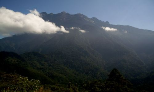 Zdjęcie MALEZJA / Sabah / Borneo-Mt. Kinabalu / ... Mt. Kinabalu ...
