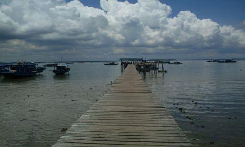 Zdjęcie MALEZJA / Sabah / Borneo-Berhala / ... droga do...