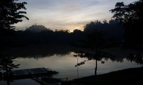 Zdjęcie MALEZJA / Sabah / Borneo-Sukau / ... przed wschodem ...