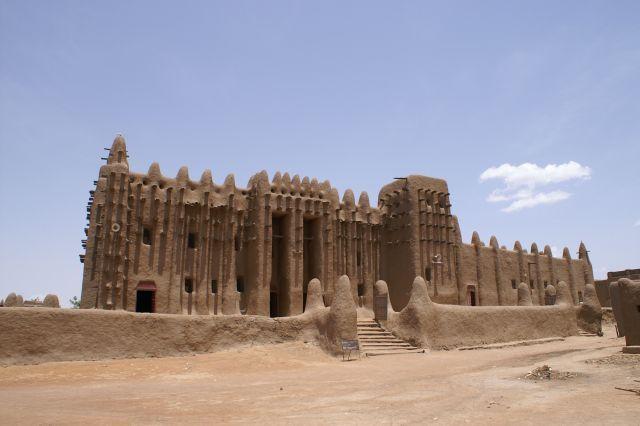Zdjęcia: Djenne, Meczet gliniany w Djenne, MALI