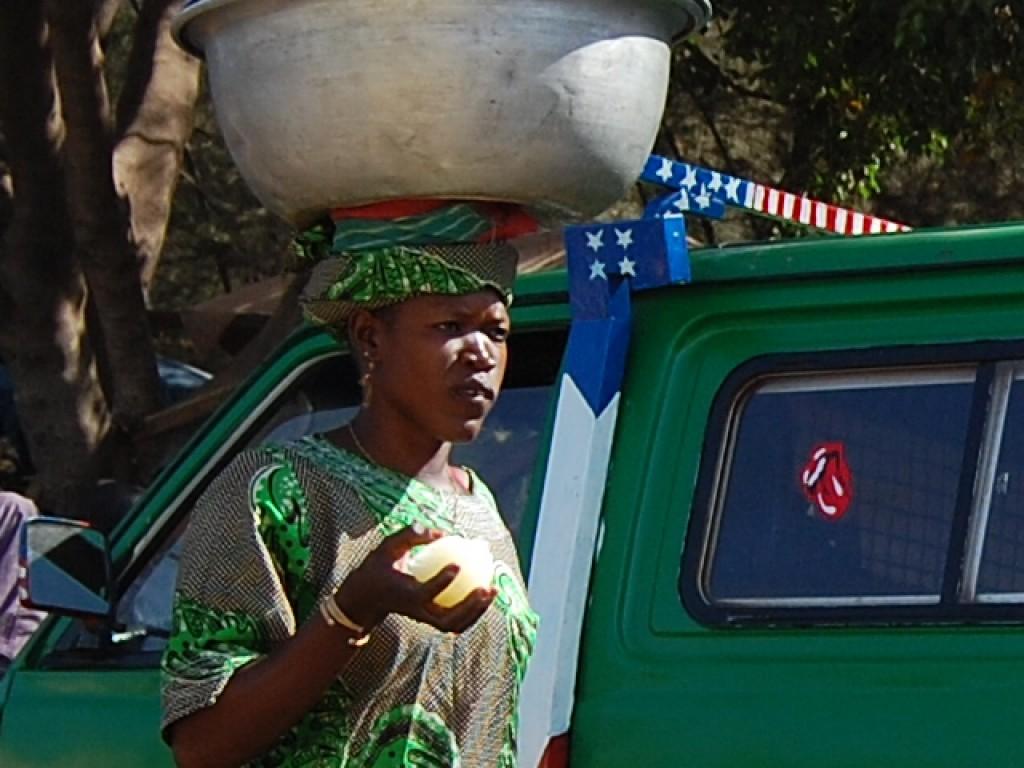"""Zdjęcia: Bamako, Afryka Zach., """"Stonsi"""" w Bamako, MALI"""