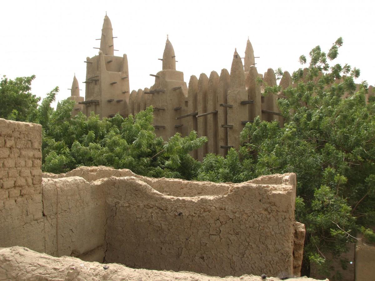 Zdjęcia: MOPTI, meczet, MALI