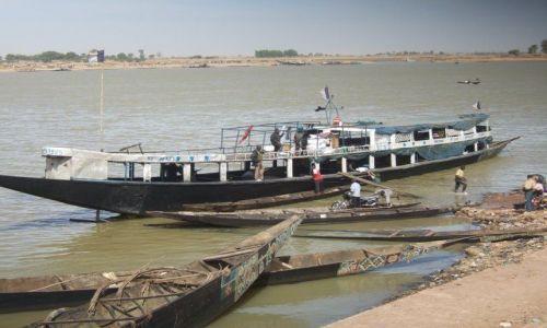 Zdjęcie MALI / - / Mopti / Port na rzece Niger