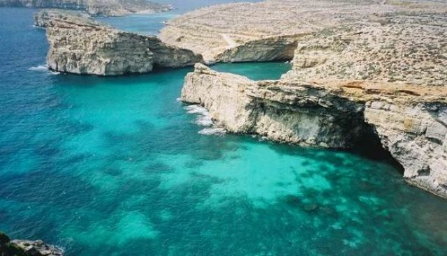 Zdj�cia: Wyspa Comino, Comino, Blue Lagoon, MALTA
